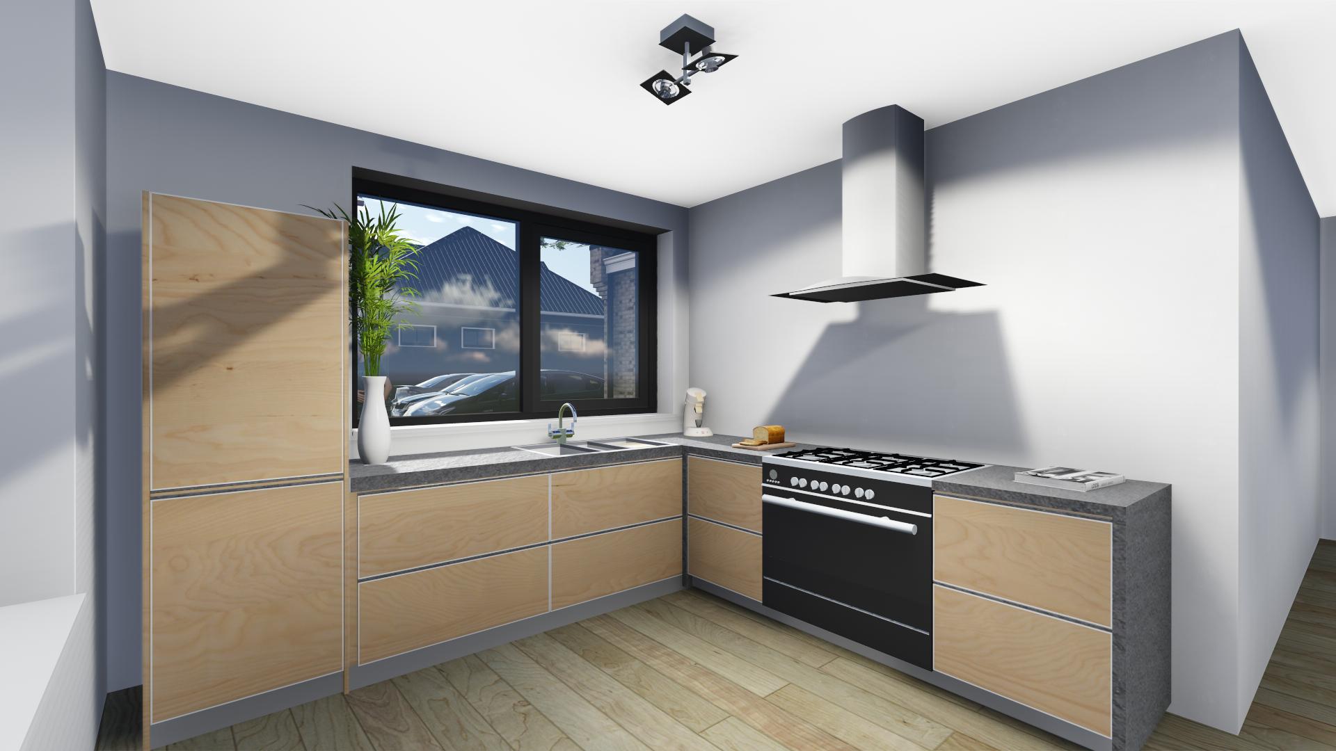 Keuken interieur woning leeuwarden bernhard kuiper visuals for Keuken interieur