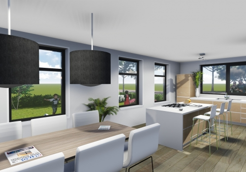 Keuken Interieur Woning Leeuwarden