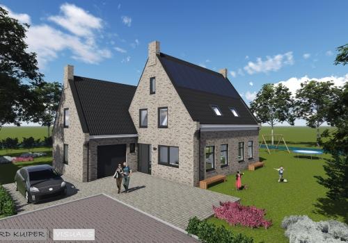 Exterieur woning Leeuwarden