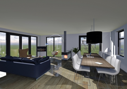 Interieur Woning Techum Leeuwarden